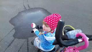 Обучение ребёнка  Катание на велосипеде 3 5 лет
