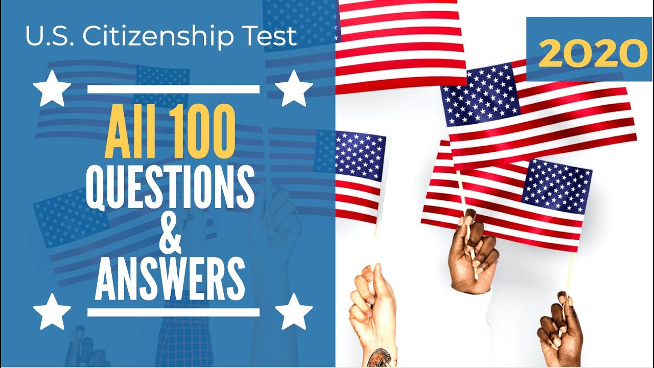 photograph about Printable United States Citizenship Test titled 100 Citizenship concerns for the US Naturalization consider