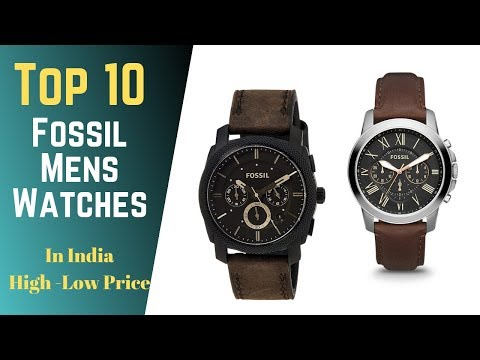 10 Best Fossil Mens Watches To Buy In India 2020