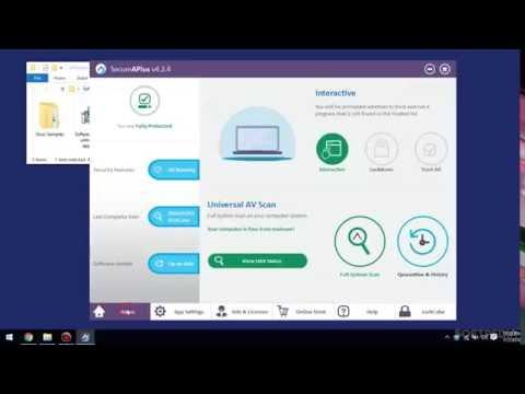 SecureAPlus 12-in-1 Cloud AV: Usage, Video and Download - GIVEAWAY (Softpedia App Rundown #113)