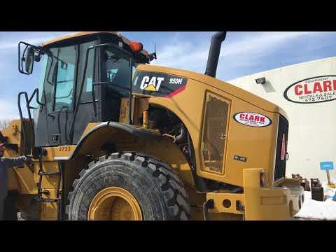 CAT 950H Cat Wheel Loader | Automatic Engine Lift