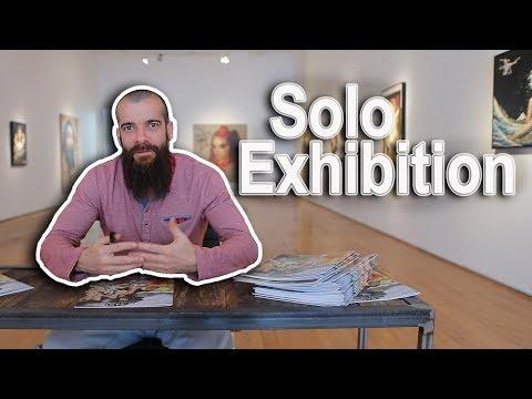 Solo Show/Exhibition in Los Angeles, California. Cesar Santos vlog 046