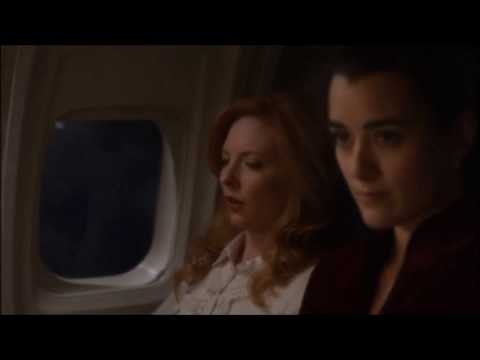 """Ziva and Tony lying about who slept on the couch """"Jet Lag"""" 7x13"""