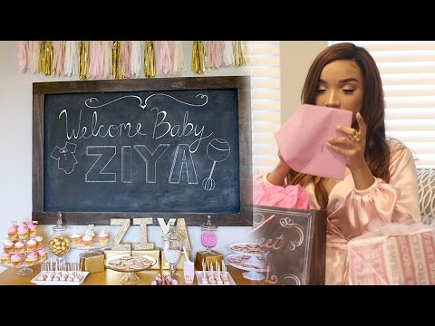 My Baby Shower | Welcome Baby Ziya!  | RAVEN ELYSE