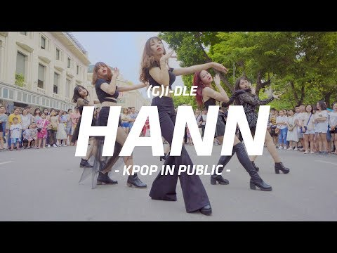 [KPOP IN PUBLIC CHALLENGE][DEBUT] (G)I-DLE - HANN(Alone) 1theK Dance Cover Contest By S.A.P