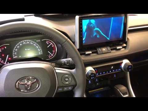 Toyota RAV4 Новинка 2020 дооснащение Андроид монитором в Авто Ателье АврорА