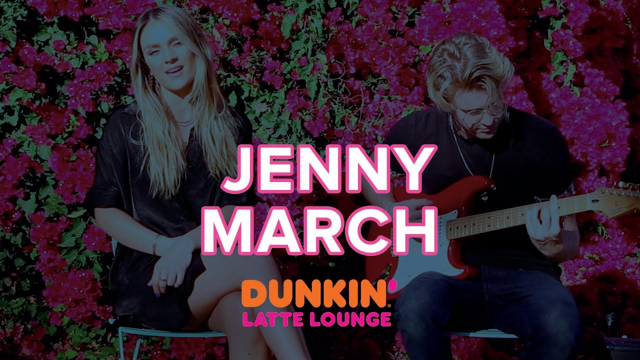Jenny March Performs Live At The Dunkin Latte Lounge