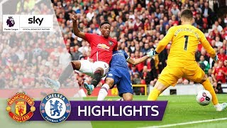 Manchester United - FC Chelsea 4:0 | Highlights - Premier League 2019/20