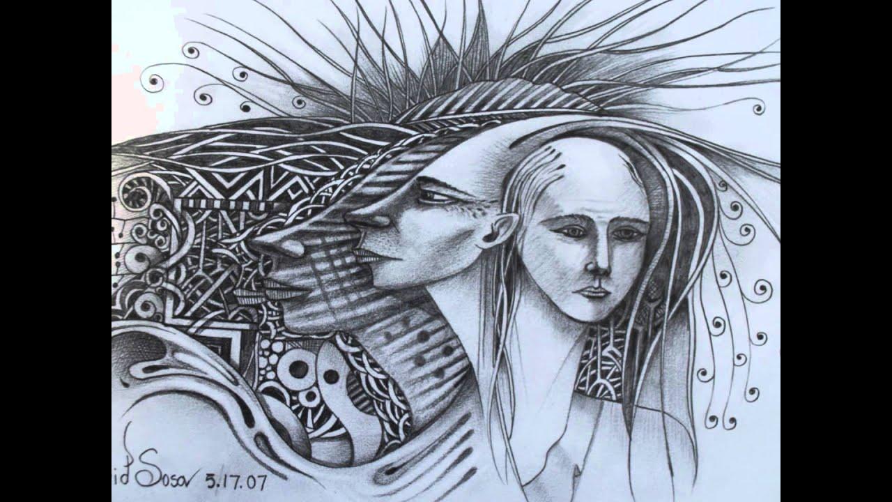 Dibujos y Bocetos de Rostros  Artista David Sosa  YouTube