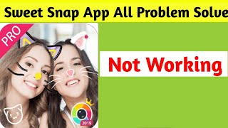 Sweet Snap | Sweet Camera All Problems Solve in Android 1 | App Not Working screenshot 4