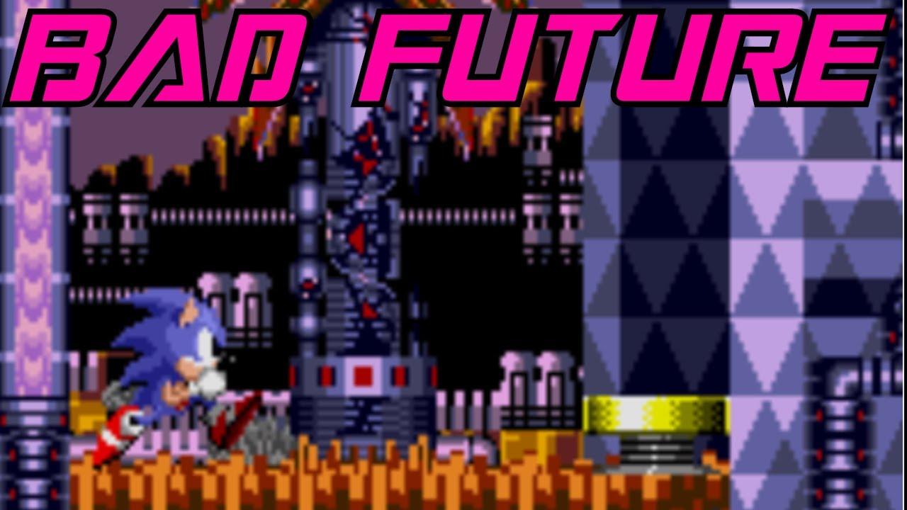 Sonic CD [JP/PAL] - Palmtree Panic Bad Future (CPS-2 Remix)