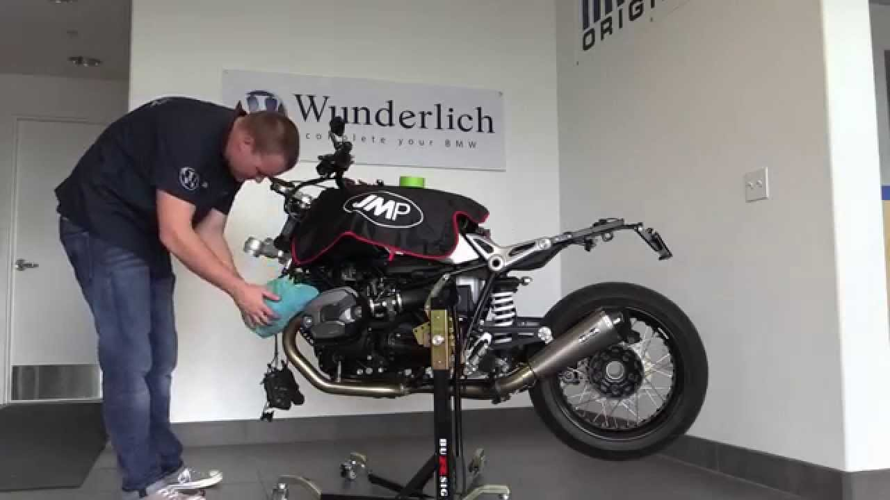 BMW Nine T >> Wunderlich America's RnineT Part 2 - YouTube