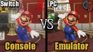 [Switch vs Yuzu] Super Mario Odyssey (PC vs Console) (Graphics Comparison)