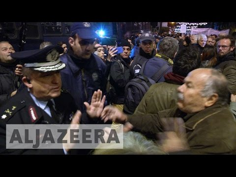 Anger swells in Greece over pension payout
