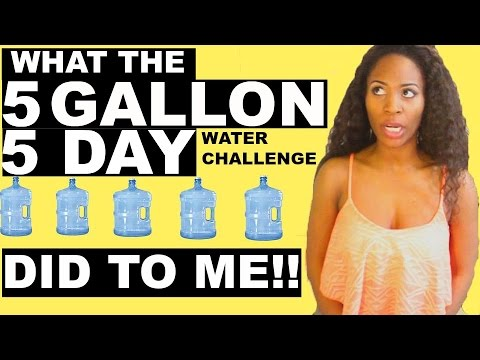 What Drinking Gallons Of Water In Days Did To Me Conclusion