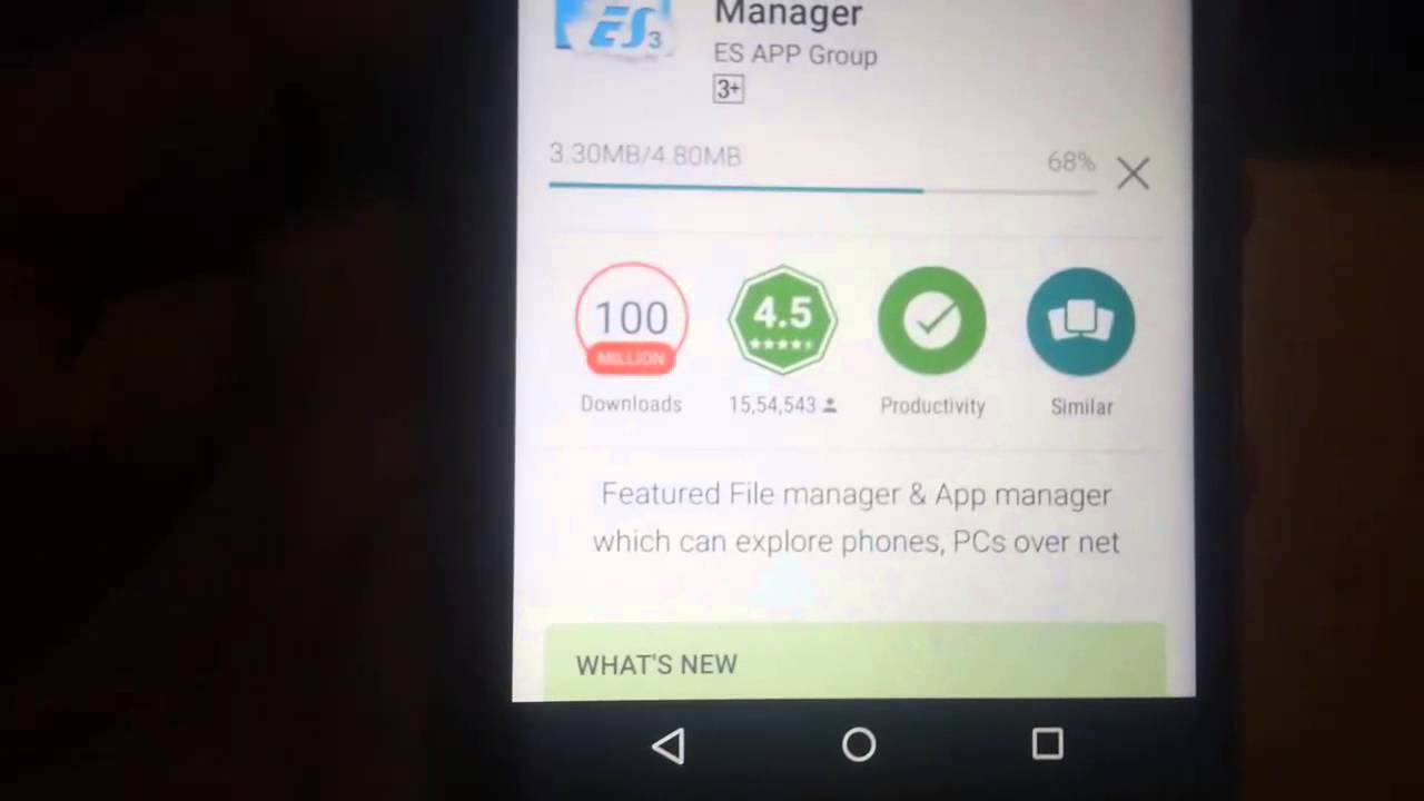 How to get file manager in moto e2