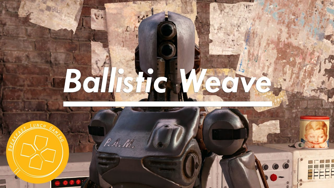how to get ballistic weave fallout 4