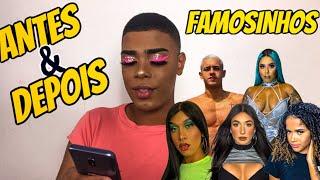 REAGINDO AO ANTES E DEPOIS DOS FAMOSINHOS