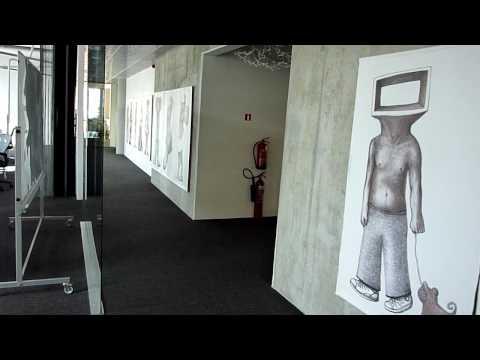 Exhibition at Skype Tallinn office 2010