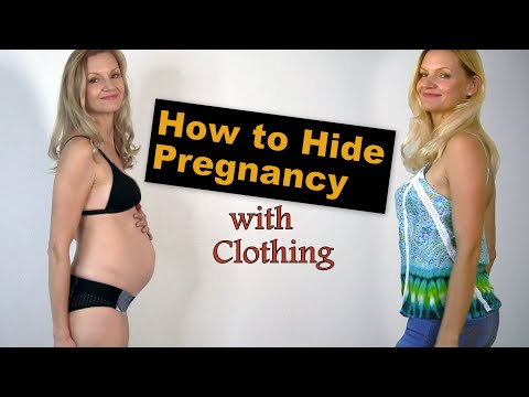 5 Methods to Hide Your Pregnancy Signs and symptoms