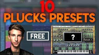 ►10 Sylenth1 Mesto Plucks Presets for free