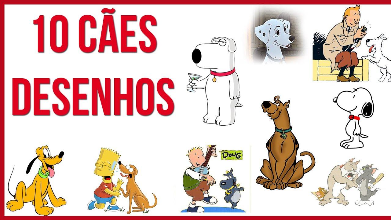 top 10 cães dos desenhos animados youtube