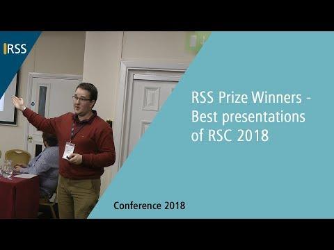 RSS Prize Winners   Best presentations of RSC 2018