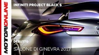 infiniti q60 project black s unveiling al salone di ginevra 2017