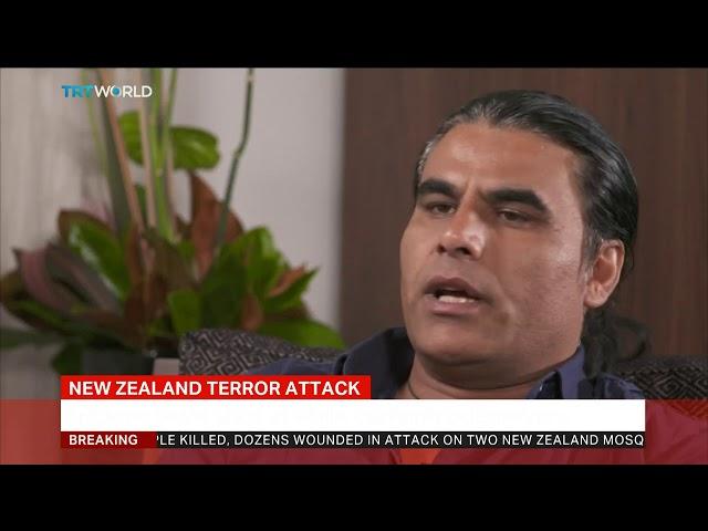 NZ massacre survivor describes chasing terrorist away