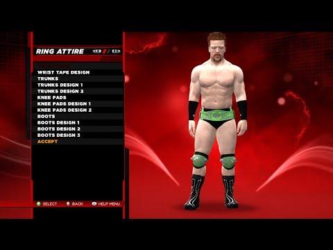 WWE2K14 Superstar Threads YouTube