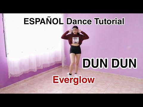 EVERGLOW (에버글로우) - DUN DUN - ESPAÑOL Dance Tutorial -Mirror- KC