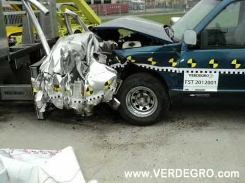 Verdegro: Crash test Truck Mounted Attenuator TMA US NCHRP 350