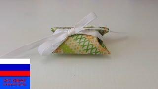 Подарочная упаковка апсайклинг втулки от туалетной бумаги
