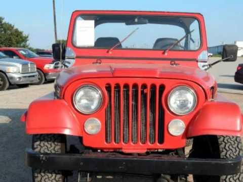 Randall Noe Terrell >> 1980 Jeep WRANGLER **2WD**350 V8** RARE** - YouTube