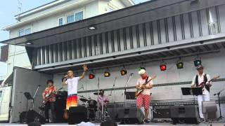 2015本宮市夏祭りにて.