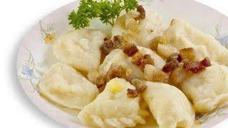 Вареники с картошкой и грибами пошаговый домашний рецепт