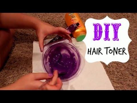 Diy Hair Toner For Blondes Youtube