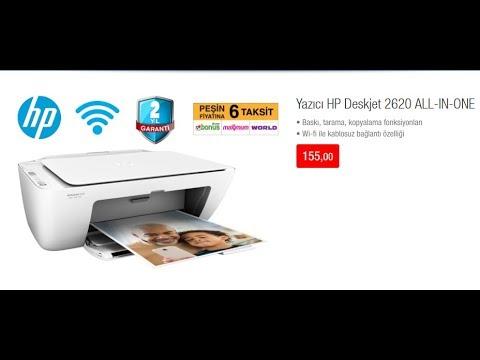 Bim Hp Deskjet 2620 Kutu A 231 ılımı Fotokopi Tarayıcı Wi Fi