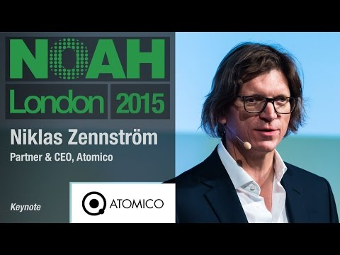Niklas Zennström, Atomico - NOAH15 London