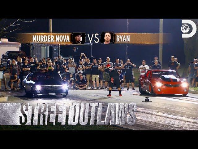 Race Replay: Ryan vs. Murder Nova for the #3 Spot   Street Outlaws