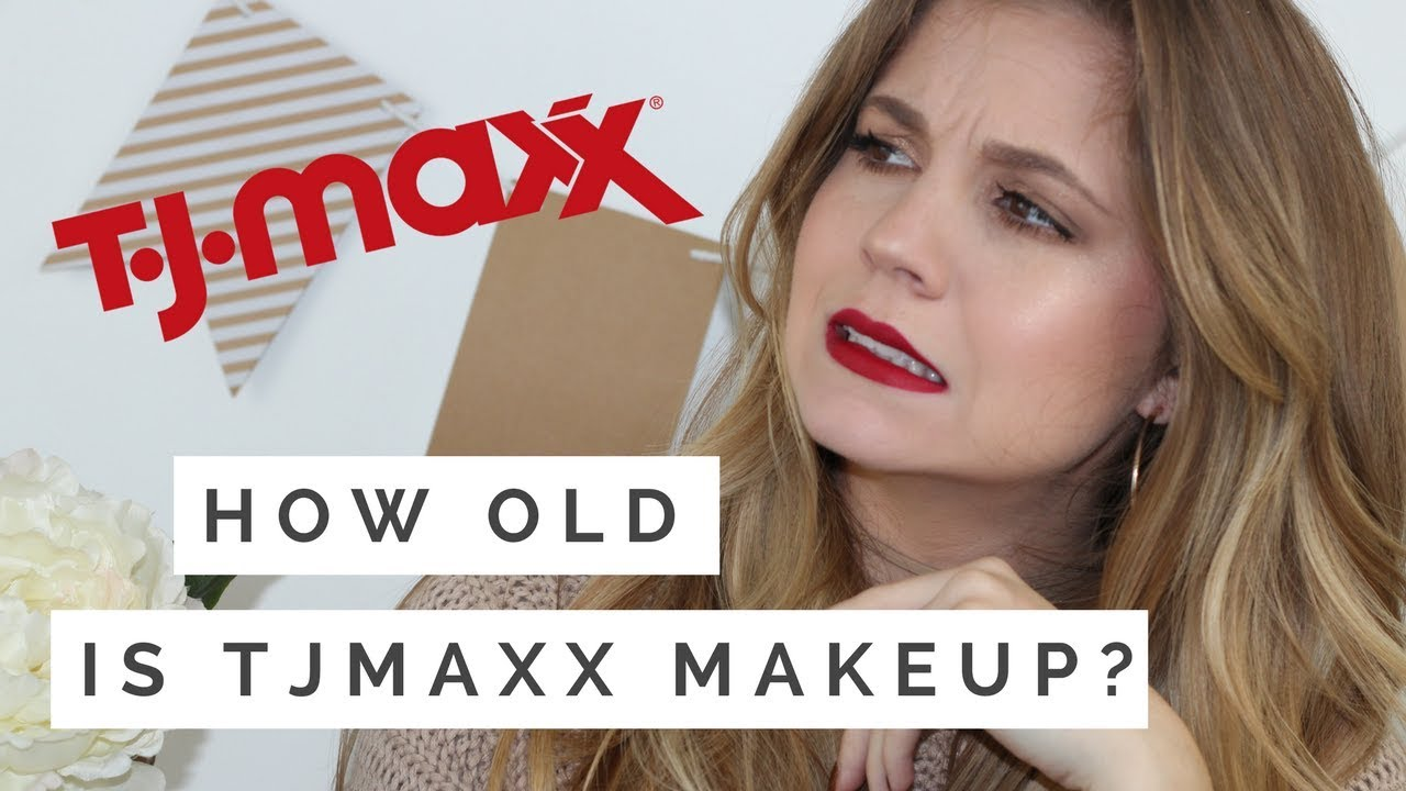 HOW OLD IS THE MAKEUP AT TJMAXX?? Looking up batch codes!