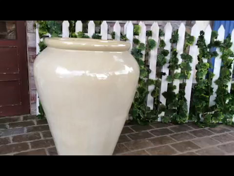Glazed Ceramic Pot Planter Outdoor