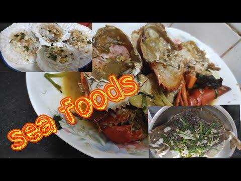 #seafood-#menualahongkong-masak-sea-food-kepiting-dan-3-macam-lainya-untuk-boss(mahal)27-08-2020