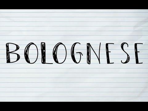 [ENG SUB] CÁCH LÀM SỐT BOLOGNESE   HOW TO MAKE BOLOGNESE