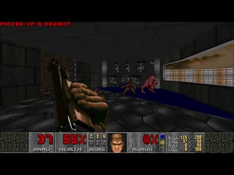 "[DOOM 2] Birthday DOOM 2014 - MAP03 ""Happy Birthday (HBR2)"" FDA"