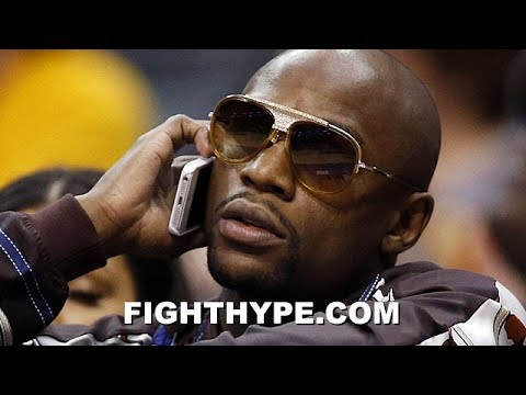 FLOYD MAYWEATHER CALLING PACQUIAO TO TALK BUSINESS; REVEALS WHO HE SHOULD FIGHT NEXT