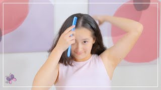 DIY Hairstyle: How to do your Hair at 10 Years Old!   Easy Hairstyles   Hairstyles for Every Day