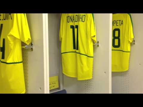 Yokohama Corinthians Stadium - Final Mundial 2012 - Vestiário do Brasil