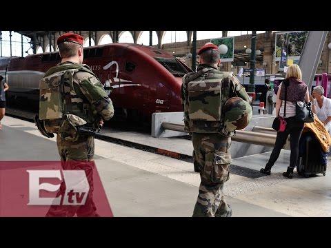 Militares estadounidense evitan atentado a un tren en Francia/ Excélsior en la media