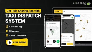 Create Your Own Taxi Booking App | Uber Like App Development | Careem Clone | Live Demo